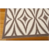 "Wav01 Sun & Shade Rectangle Rug By, Flint, 5'3"" X 7'5"""