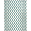 "Wav01 Sun & Shade Rectangle Rug By, Poolside, 7'9"" X 10'10"""