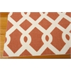 "Wav01 Sun & Shade Rectangle Rug By, Sienna, 5'3"" X 7'5"""