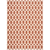 "Wav01 Sun & Shade Rectangle Rug By, Sienna, 7'9"" X 10'10"""