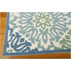 "Wav01 Sun & Shade Rectangle Rug By, Marine, 5'3"" X 7'5"""