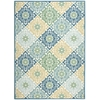 "Wav01 Sun & Shade Rectangle Rug By, Marine, 7'9"" X 10'10"""