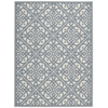 "Wav01 Sun & Shade Rectangle Rug By, Aquarium, 5'3"" X 7'5"""