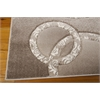 "Soho Rectangle Rug By, Mocha, 5'3"" X 7'4"""