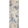 Somerset Ivory Blue Area Rug