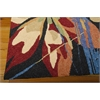 Nourison South Beach Rectangle Rug  By Nourison, Black, 5' X 7'6""