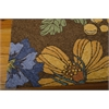 South Beach Rectangle Rug By, Chocolate, 5' X 7'6""