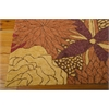 Nourison South Beach Rectangle Rug  By Nourison, Spice, 5' X 7'6""