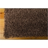 Nourison Splendor Rectangle Rug  By Nourison, Chocolate, 5' X 7'
