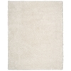 Splendor White Shag Area Rug