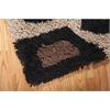 Nourison Splendor Rectangle Rug  By Nourison, Beige Black, 5' X 7'