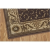 "Nourison Somerset Rectangle Rug  By Nourison, Brown, 3'6"" X 5'6"""