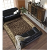 "Somerset Rectangle Rug By, Brown, 7'9"" X 10'10"""