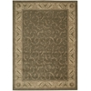 "Nourison Somerset Rectangle Rug  By Nourison, Khaki, 7'9"" X 10'10"""