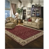 "Nourison Somerset Rectangle Rug  By Nourison, Red, 7'9"" X 10'10"""