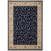 "Somerset Rectangle Rug By, Navy, 5'3"" X 7'5"""