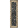 "Nourison Somerset Runner Rug  By Nourison, Navy, 2'3"" X 8'"