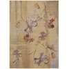 "Nourison Somerset Rectangle Rug  By Nourison, Beige, 7'9"" X 10'10"""