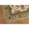"Nourison Somerset Rectangle Rug  By Nourison, Ivory, 3'6"" X 5'6"""