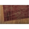 """Nourison Somerset Rectangle Rug  By Nourison, Flame, 3'6"""" X 5'6"""""""