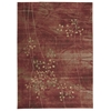 "Nourison Somerset Rectangle Rug  By Nourison, Flame, 7'9"" X 10'10"""