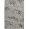 "Nourison Somerset Rectangle Rug  By Nourison, Silver Blue, 5'3"" X 7'5"""