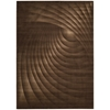 "Nourison Somerset Rectangle Rug  By Nourison, Chocolate, 7'9"" X 10'10"""