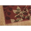 "Somerset Rectangle Rug By, Brick, 3'6"" X 5'6"""