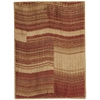 """Nourison Somerset Rectangle Rug  By Nourison, Flame, 2' X 2'9"""""""