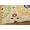 "Suzani Rectangle Rug By, Ivory, 5'3"" X 7'5"""