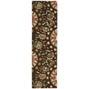 "Suzani Runner Rug By, Brown, 2'3"" X 8'"