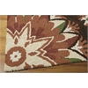 "Nourison Suzani Rectangle Rug  By Nourison, Brown, 5'3"" X 7'5"""