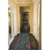 "Nourison Suzani Runner Rug  By Nourison, Teal, 2'3"" X 8'"