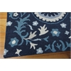 "Nourison Suzani Rectangle Rug  By Nourison, Navy, 5'3"" X 7'5"""