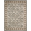 "Nourison Symphony Rectangle Rug  By Nourison, Light Green, 5'6"" X 7'5"""