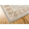 "Nourison Symphony Rectangle Rug  By Nourison, Light Green, 7'6"" X 9'6"""