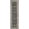"Symphony Runner Rug By, Charcoal, 2'3"" X 8'"