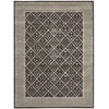 "Symphony Rectangle Rug By, Charcoal, 5'6"" X 7'5"""