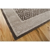 "Nourison Symphony Rectangle Rug  By Nourison, Charcoal, 7'6"" X 9'6"""