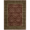 "Symphony Rectangle Rug By, Ruby, 5'6"" X 7'5"""