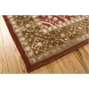 "Nourison Symphony Rectangle Rug  By Nourison, Ruby, 7'6"" X 9'6"""