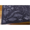 "Nourison Symphony Rectangle Rug  By Nourison, Indigo, 7'6"" X 9'6"""