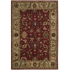 "Nourison Tahoe Rectangle Rug  By Nourison, Red, 5'6"" X 8'6"""