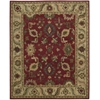 "Nourison Tahoe Rectangle Rug  By Nourison, Red, 7'9"" X 9'9"""