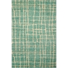Tahoe Modern Turquoise Green Area Rug