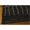 Tangier Rectangle Rug By, Black, 5' X 7'