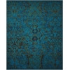 Timeless Peacock Area Rug