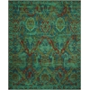 Timeless Turquoise Area Rug