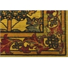 "Timeless Rectangle Rug By, Stained Glass, 7'9"" X 9'9"""