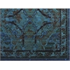 "Timeless Rectangle Rug By, Peacock, 7'9"" X 9'9"""